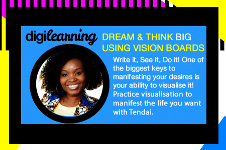 Dream Big and Think Big Using Vision Boards